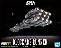 BANDAI STAR WARS BLOCKADE RUNNER MODEL KIT 127mm FROM JAPAN