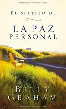El secreto de la paz personal (Spanish Edition) Paperback by Billy Graham