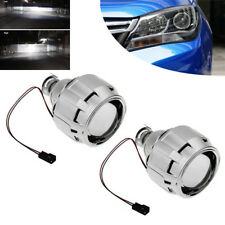 "2pcs 2.5"" Bi-Xenon HID Projector Lens Kit Car H1 Headlight LHD H4/H7 w/ Shroud"