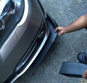 2 Pcs Auto Car Bumper Spoiler ABS Front Shovel Decorative Scratch Resistant Wing