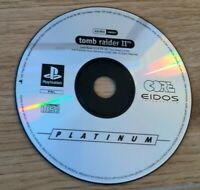 Tomb Raider II 2 Sony PlayStation 1 PS1 PAL Platinum Game DISC ONLY - Free P&P