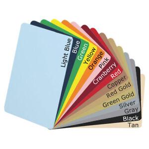 Premium ISO PVC Plastic Blank Card for ID & Business 420 Micron Plain Slim Cards
