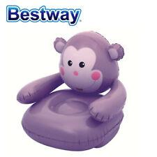"Bestway Monkey Inflatable Chair  (Purple)- 31.5""x31.5""x28"""