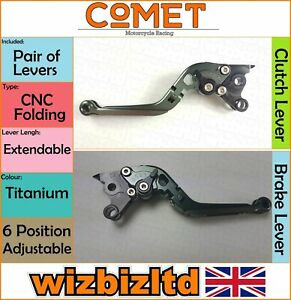 Ducati Monster S2R 2006-2008 [Pliable Extensible Titane] [ Comet Course Levier]