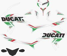 ducati hypermotard hyperstrada headlight black 939 821 decals sticker sp kit
