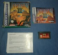 Doom 2 (Nintendo game boy advance) dans son boîtier avec manuel. Rapide et gratuit P + P.