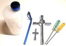Mini RC Nitro Glow Starter Kit Tool 300ml Refill Bottle Wheel Wrench Screwdriver