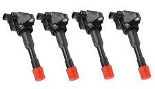 Brand New Set of 4 Ignition Coils for Honda City, Civic, Jazz