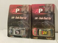 2 Limited Edition Nascar #3 & #24 stock car in 1:64 scale