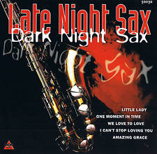 "Tuxedo Junktion orch. "" Late Night Sax / Dark Night Sax "" 14 TRACKS CD"