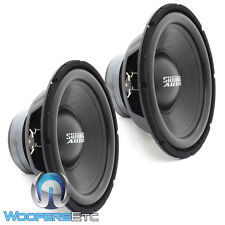 "(2)  SUNDOWN AUDIO LCS-12D4 12"" DUAL 4-OHM 300W RMS SUBWOOFERS BASS SPEAKERS NEW"