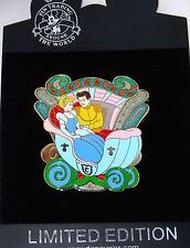 Rare Le 125 Disney Pin✿Princess Cinderella Art Carousel Royal Coach Prince Henry