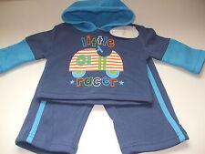 Neonato - 3 MESI Baby tuta in blu-Pantaloni e top-Con etichette Nuovo di Zecca
