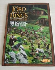 The Lord of the Rings  strategy battle game book scouring of the shire