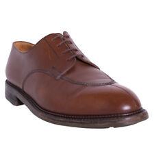 J.M. Weston Shoes Size 11 (12) Tan 696 Half Hunt Derby