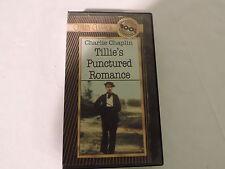 VHS  Video Charlie Chaplin Tillie's Punctured Romance Rare