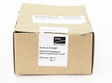 SMA SUNCLIX-FC6-SET Feldstecker 2,5-6 mm² 10x + / 10x -