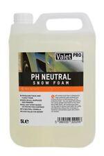 Valet Pro PH Neutral Snow Foam Pre Wash Bug Cleaner 5L via Presure Washer Lance