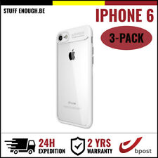 3IN1 Focus Armor Cover Cas Coque Etui Silicone Hoesje Case For iPhone 6 White
