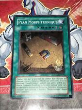 Carte YU GI OH PLAN MORPHTRONIQUE CRMS-FR050 x 3