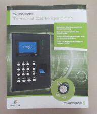 CHIPDRIVE Zeiterfassung / Stempeluhr C2 Fingerprint MIFARE RFID Zusatz-Terminal
