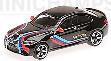 BMW M2 F87 Coupè 2016 Ritmo Car Nero 1:87 Minichamps
