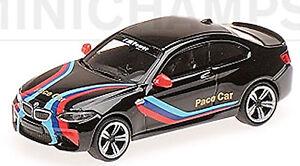 BMW M2 F87 Coupe 2016 Pace Car Black 1:87 Minichamps
