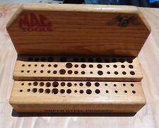 Vintage ? MAC TOOLS / TOOL TRUCK Punch or Punches Wooden Sales DISPLAY CASE