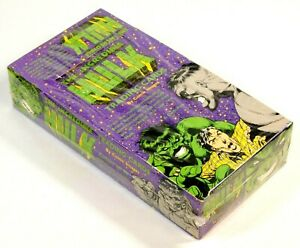MARVEL UNIVERSE INCREDIBLE HULK TRADING CARDS BOX 1991 COMIC IMAGES
