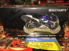 1:12 MINICHAMPS YAMAHA 2013 FACTORY RACING V. ROSSI NEW SHIP. WORLDWIDE RARE