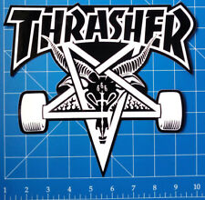 THRASHER STICKER PACK #15 **HUGE DECK SIZED SKATE GOAT STICKER**