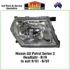 HEADLIGHT fit NISSAN GU Y61 PATROL SERIES 3 R/H RIGHT DRIVER SIDE 2001-2007 ADR