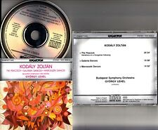 W.GERMANY FS- KODALY- The Peacock; Galanta Dances CD Gyorgy LEHEL Budapest CD