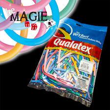 100 Ballons Qualatex VIBRANT 260Q - Magie - sac sculpture
