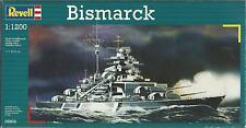 Modelo a escala Revell Bismarck III