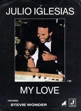 SHEET MUSIC JULIO IGLESIAS : MY LOVE FT STEVIE WONDER