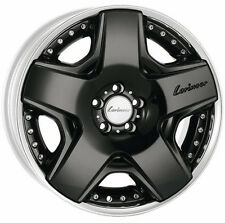 "Mercedes-Benz Lorinser FEO RSK6 19"" Wheels Staggered Two-Piece Black W221 W222"