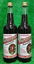 (21,42€/L) 2x Meininger Rhöntropfen Magenbitter 0,7l  Ostprodukt Versand 0€