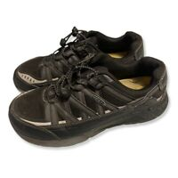 KEEN ASTM F2413-11 Steel Toe Work Shoes - Mens US Size 10EE Gray Black
