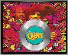 Cream 45 Record Poster Art Music Memorabilia Plaque Wall Decor