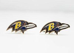Baltimore Ravens Cufflinks NFL Football