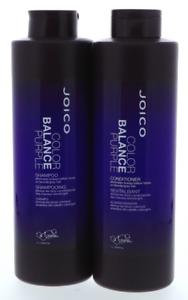 Joico Color Balance Purple  Shampoo and Conditioner Liter- 33.8 oz Duo / Set