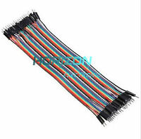 40/120PCS  20cm Dupont Wire Male to Male + Male to Female + Female to Female