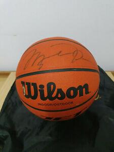 Michael Jordan Signed Wilson Basketball UDA Upper Deck Authentication