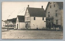 Boiestown New Brunswick RPPC Campbell General Store—Photo Upper Miramichi 1907