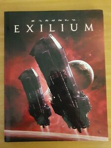 Exilium by Greg Suanders - Mini Six system RPG Hardcover