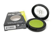 Kat Von D Metal Crush Eye Shadow 'Electric Warrior' Iridescent Citron Green NIB