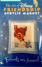 THE ART OF DISNEY FRIENDSHIP REFRIGERATOR MAGNET BAMBI AND THUMPER