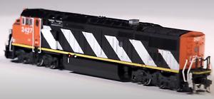 Rapido Trains Inc. N GE C40-8M Dash 8-40CM Canadian National CN #2427 DC LED