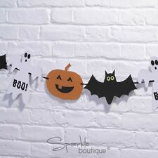 HAPPY HALLOWEEN BUNTING/BANNER/GARLAND-Adult/Childrens Party- FULL RANGE IN SHOP